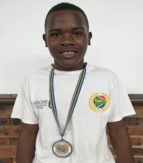 Lebo Motshweneng KSA 3rd place