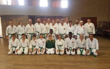 Monthly regional senior training in Potch
